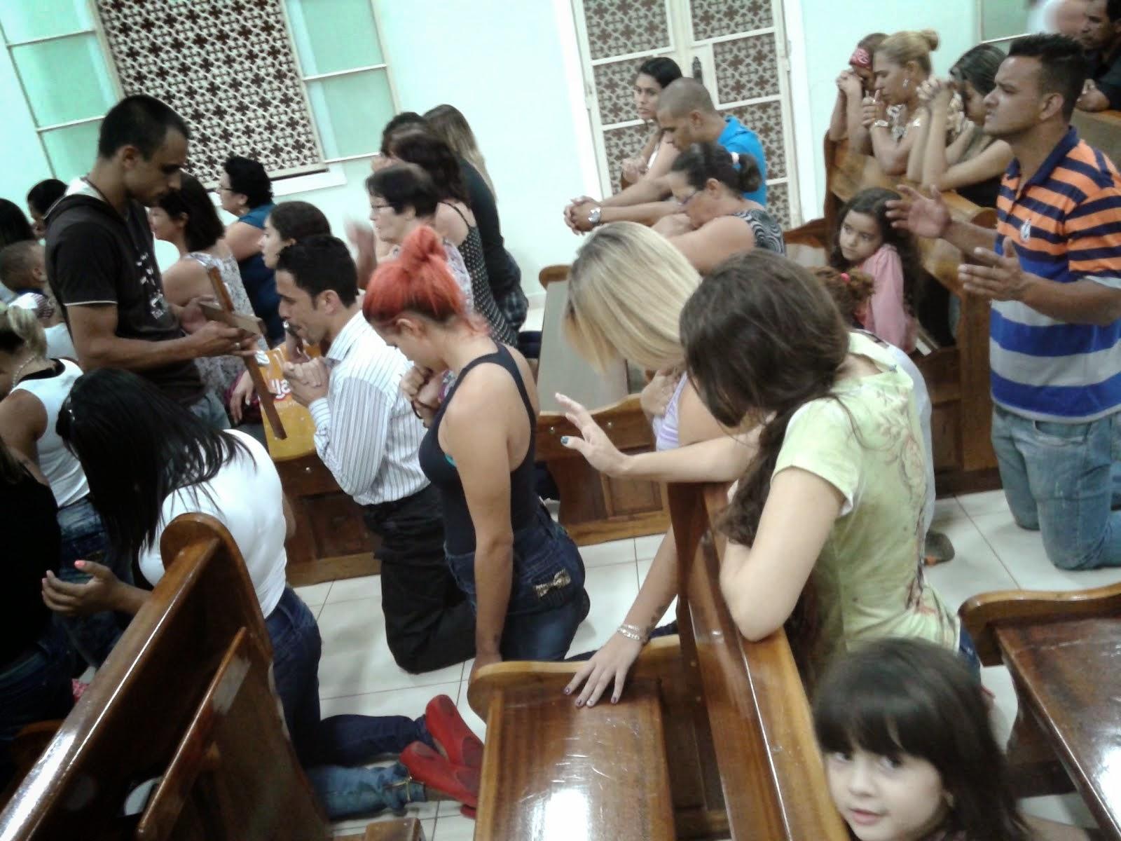 Oração através da Cruz