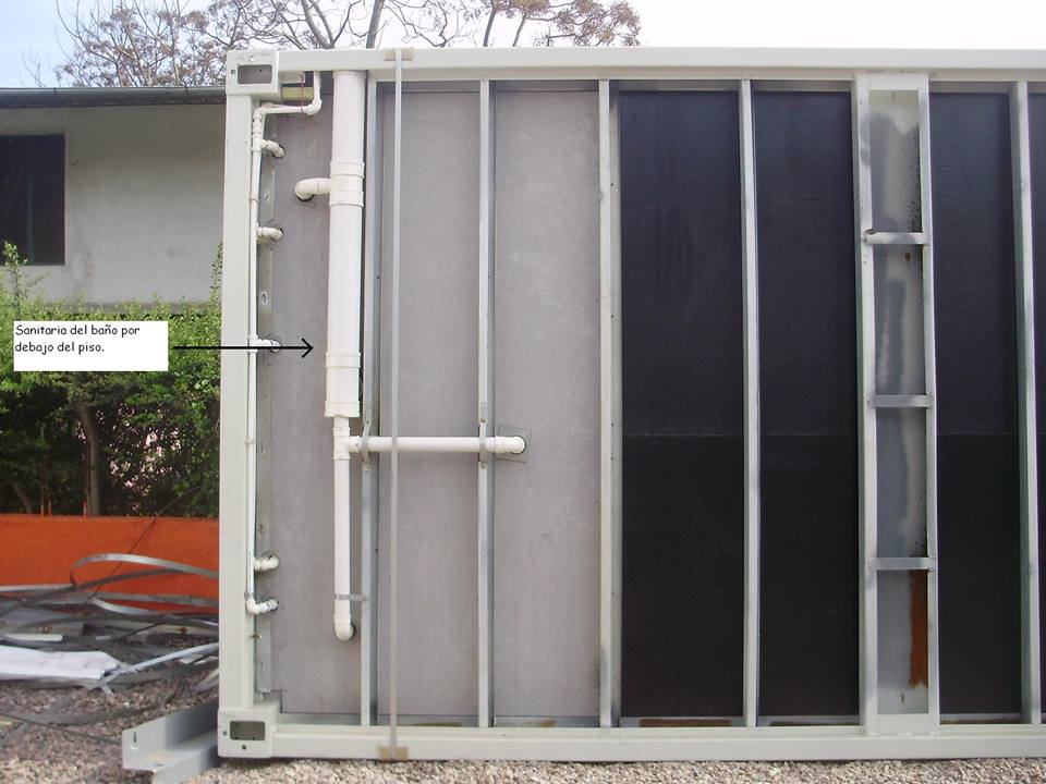 Mi casa en un container o contenedor maritimo - Contenedor maritimo casa ...
