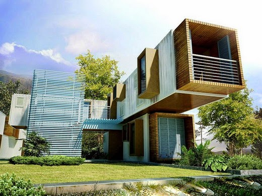 El mundo del reciclaje casas hechas con contenedores - Casa hecha con contenedores ...