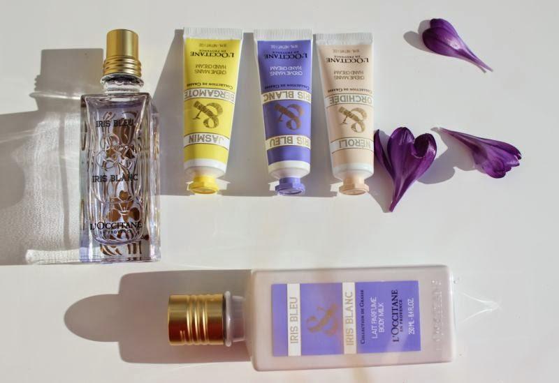 L'Occitane Iris Bleu & Iris Blanc La Collection de Grasse