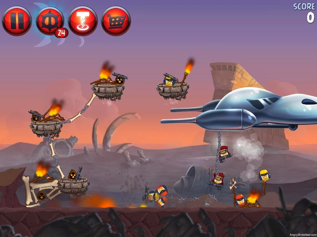 Download Angry Birds Star Wars II