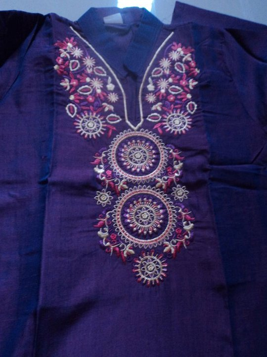Embroidery Designs For Kurtis Submited Images