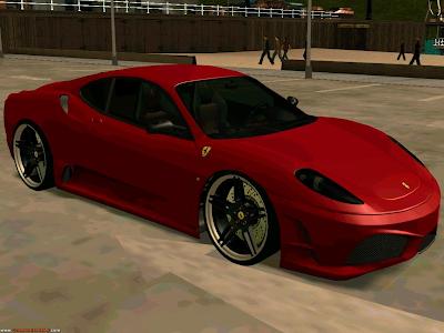 Ferrari 430 Scuderia Para GTA San Andreas