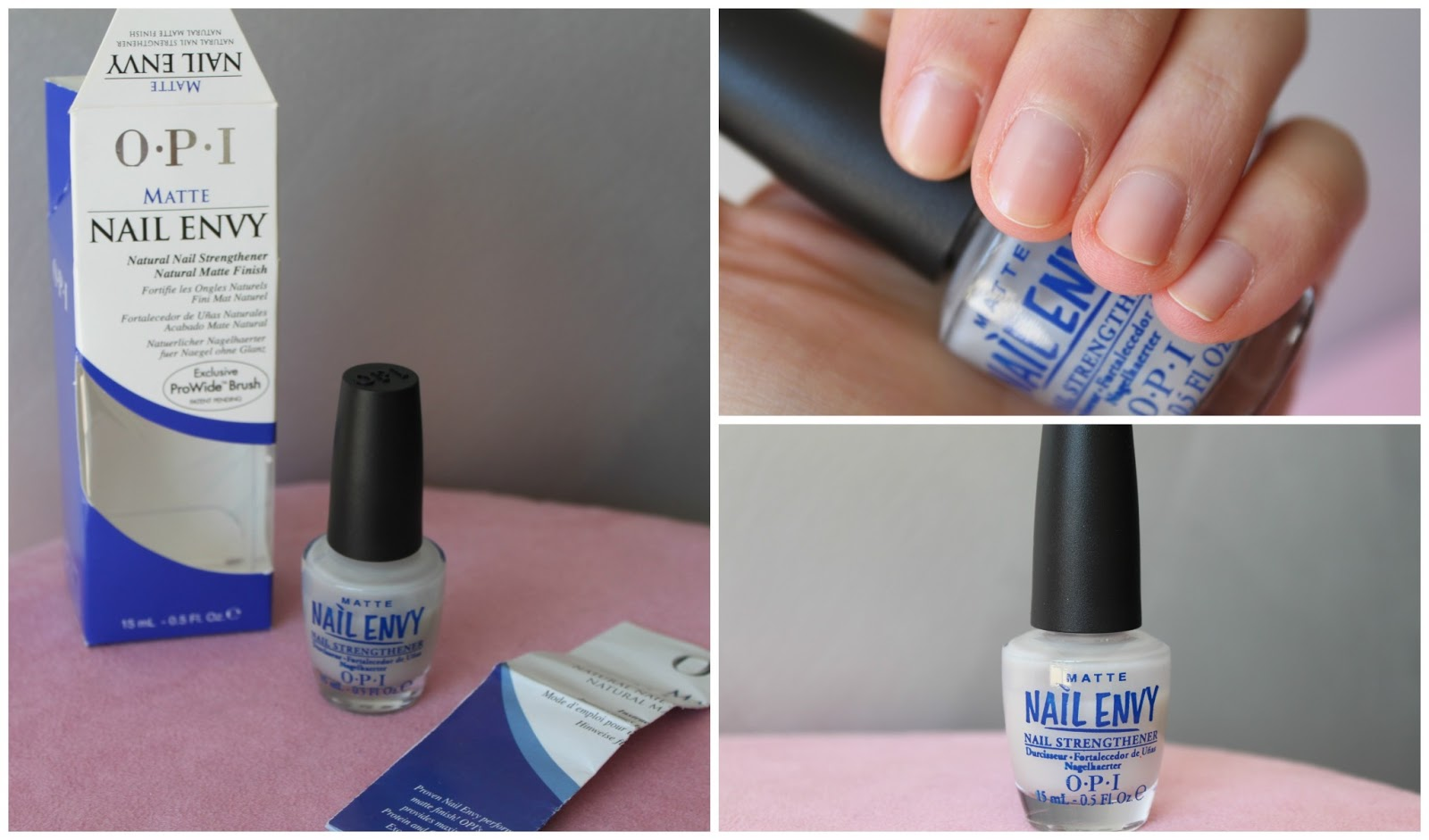 Australian Beauty Review: Nail Polish of the week: OPI Matte Nail Envy