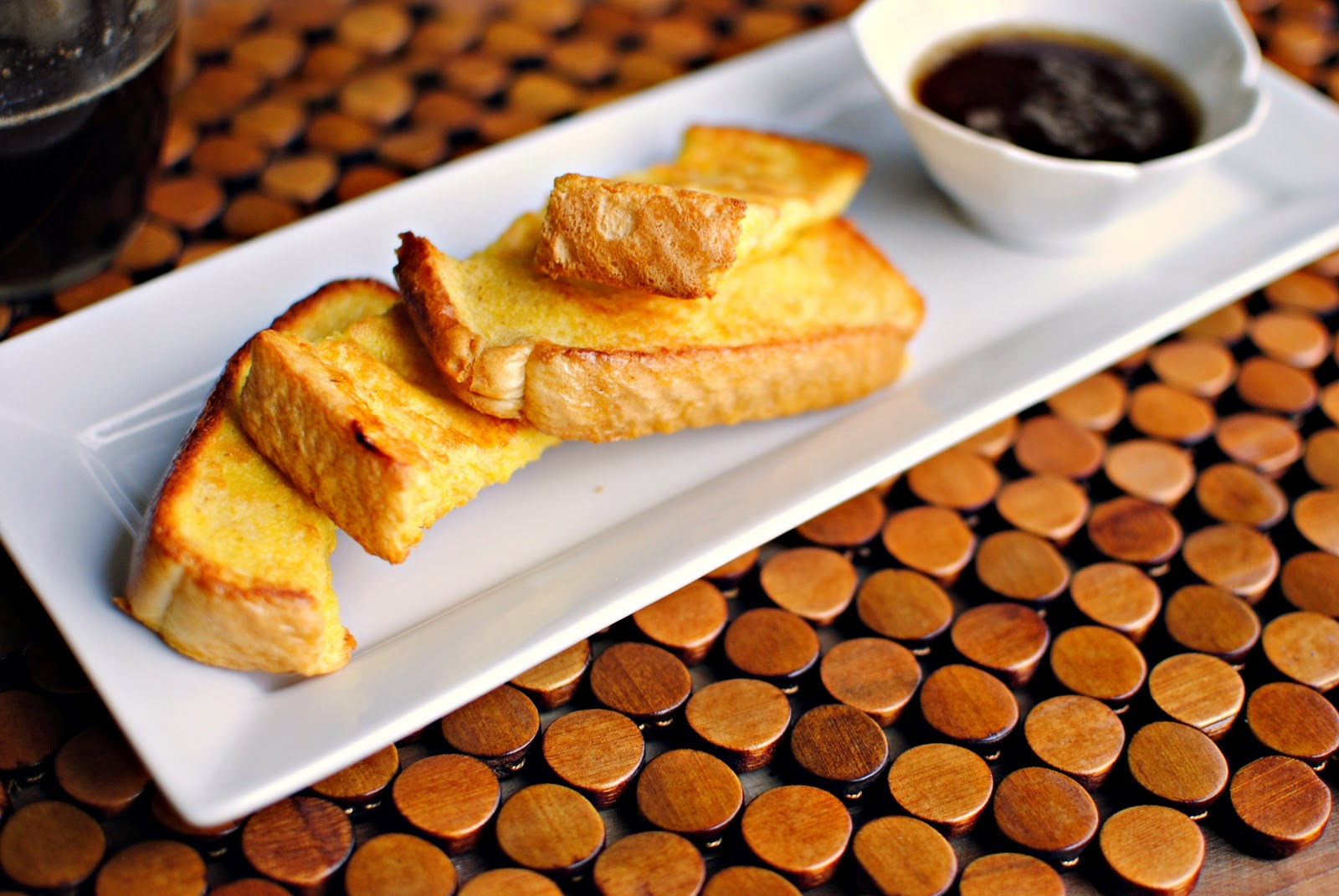 Luxury Dishes: :Eggnog French Toast Sticks and Brown Butter Maple ...