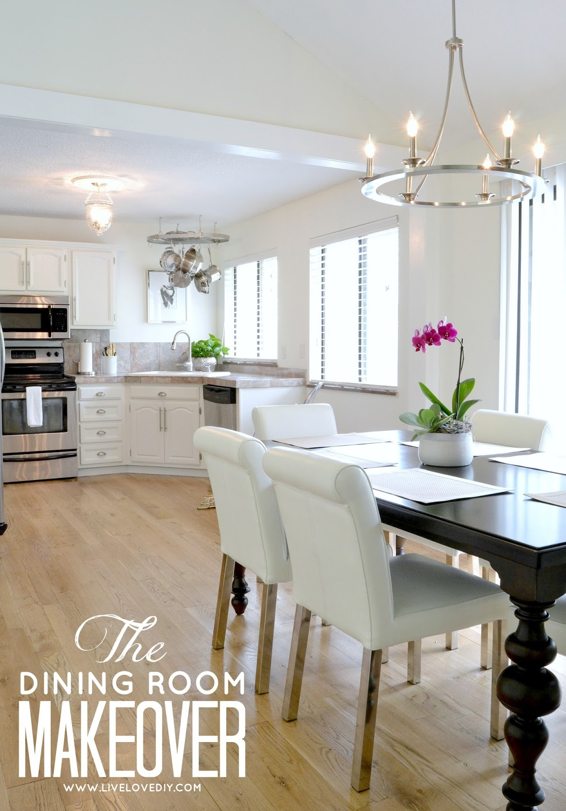 DIY Budget Dining Room Makeover Ideas. Love This Post! So Many Practical  Ideas On