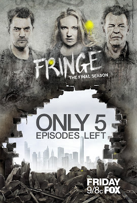 Fringe The Final Season Five Episodes Left One Sheet Television Poster