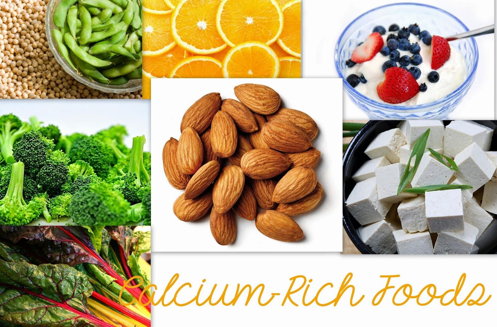 Non Dairy Calcium Rich Foods of Calcium Rich Foods
