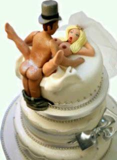 Nasty Wedding Cake Toppers