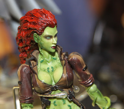 Square Enix Play Arts 2013 Toy Fair Display - Arkham City Poison Ivy figure