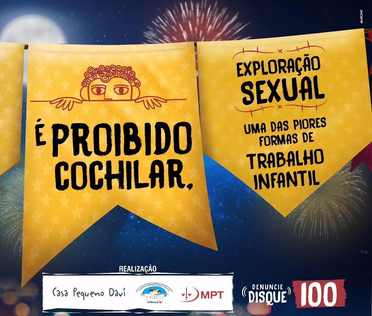 Campanha contra a exploração sexual
