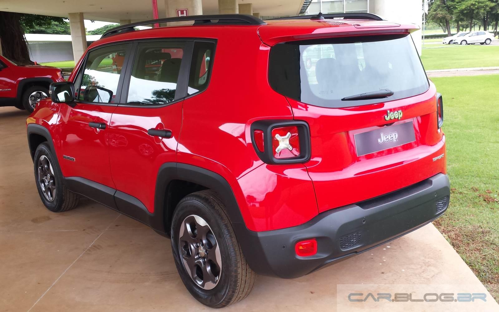 Jeep Renegade 1.8 Flex - Automático