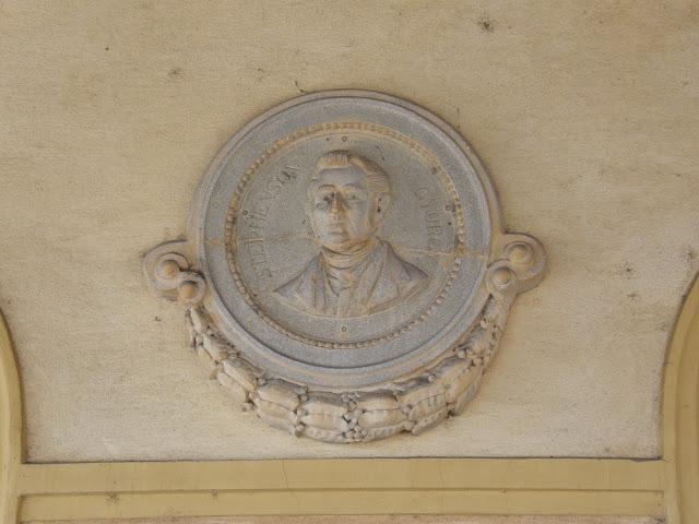 Hungary, Magyarország, Vác, Stephenson György, George Stephenson, emléktábla