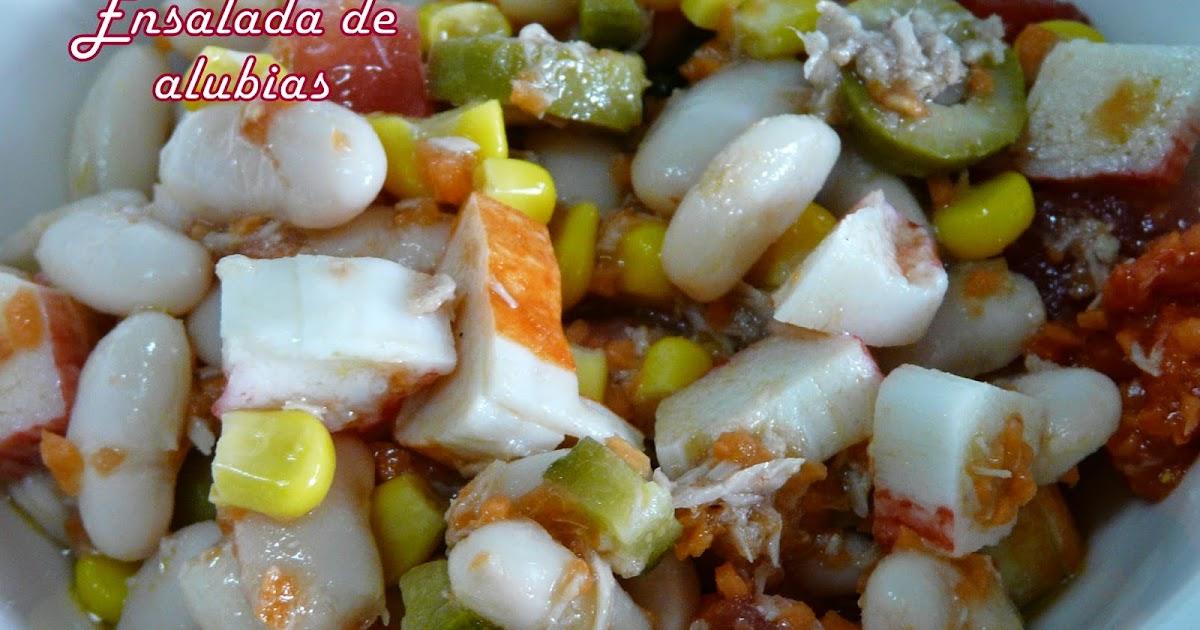 El buen yantar de sefa ensalada de alubias aragonesas - Ensalada de alubias ...