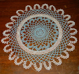 Completed Classic Doily