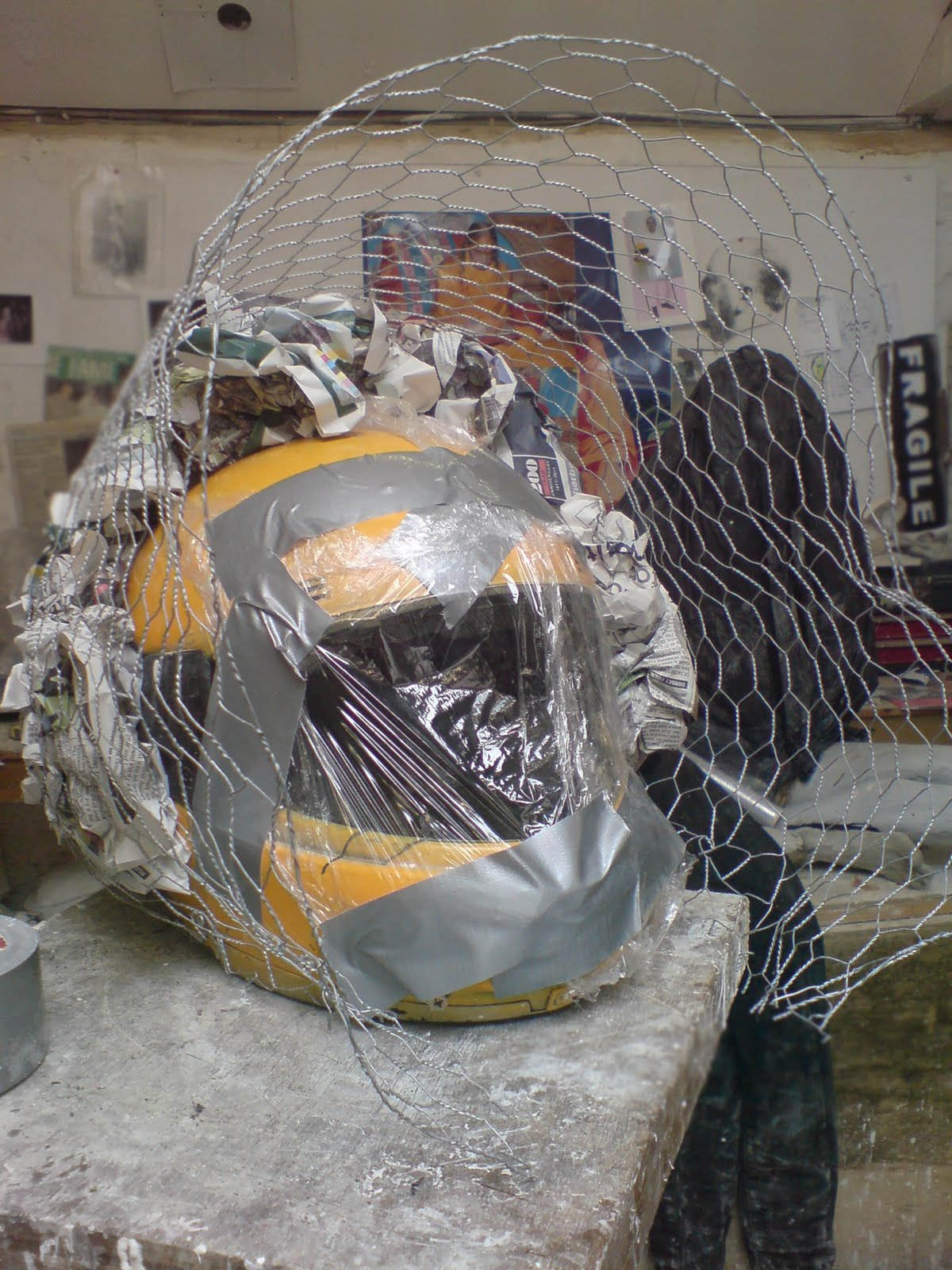 Martha Moopette: Making masks for The Third Policeman