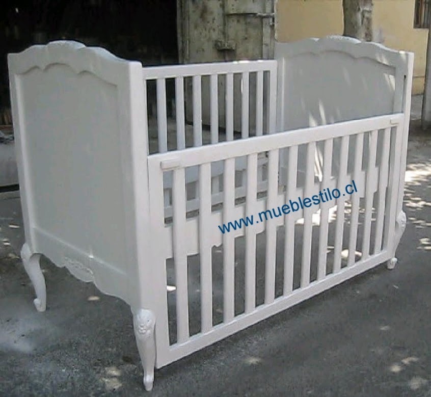 Bien venidos cunas c modas muebles de beb cuna provenzal Muebles cunas bebes
