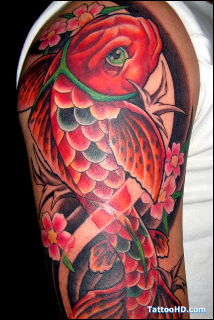 Amazing koi fish tattoo designs amazing art gallery for Amazing koi fish