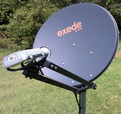Spinning Yarns From The Farm Exede Internet Satellite Review