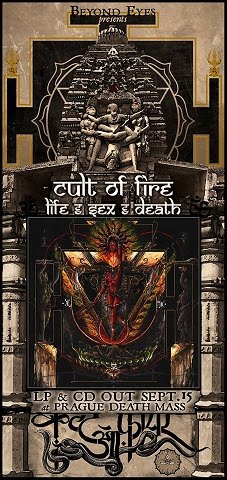 New release: Cult of Fire - Life, Sex And Death [EP]