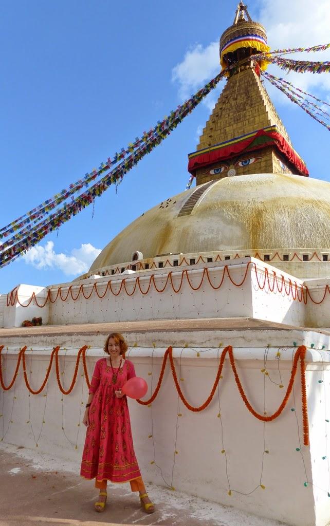 Boudanath stupa, Kathmandu, Nepal