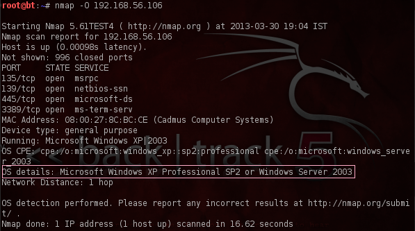 hack windows server 2003 metasploit
