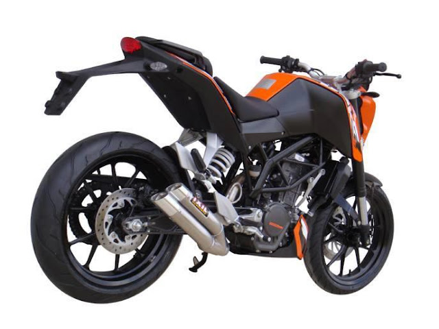 KTM 200 Duke IXIL L3X Hyper Low SS Exhaust | KTM 200 Duke Performance parts | KTM 200 Duke Exhaust