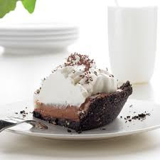 Delicious Chocolate Cream Filling Pie Su