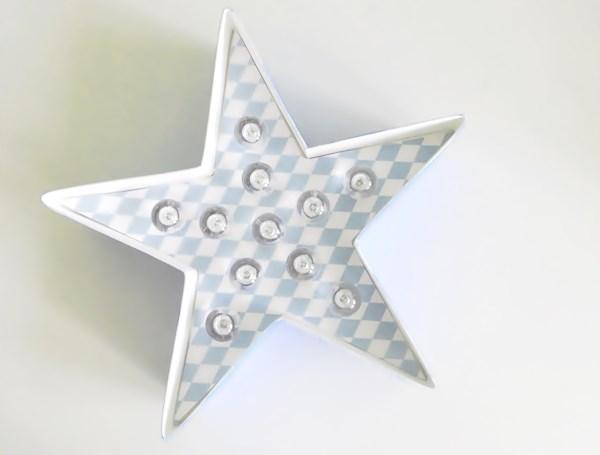 DIY : Étoile lumineuse