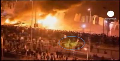 Penampakan Hantu Ksatria Berkuda Di Tengah Demo Mesir | Foto & Video