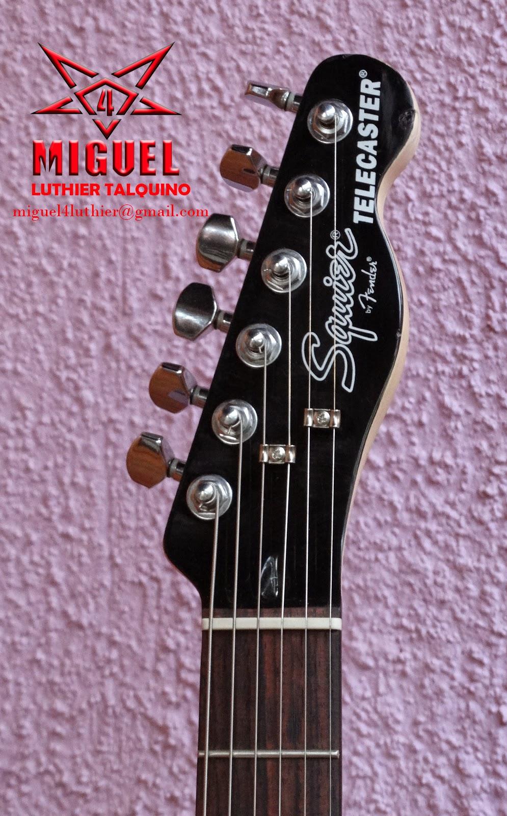 Luthier miguel4 talca guitarra electrica squier for Luthier guitarra electrica