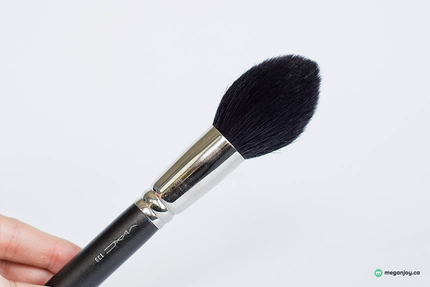 Just J: Megan of Megan Joy loves the MAC 138 tapered face brush