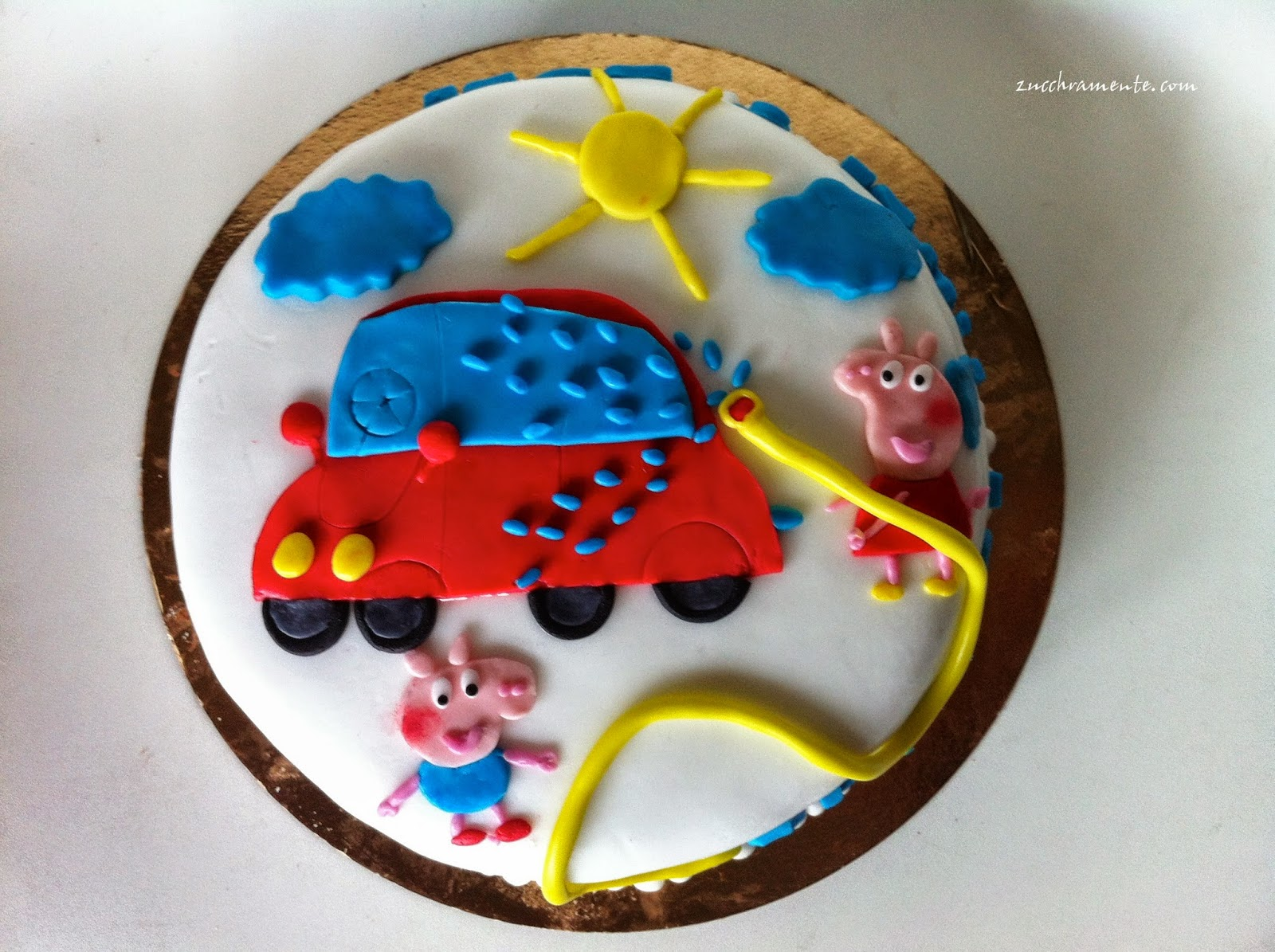 peppa pig: una torta facile facile