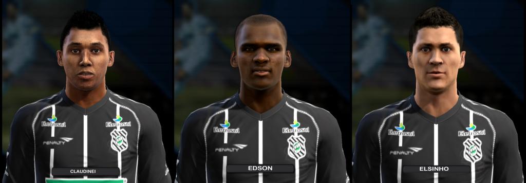 Figueirense Mini Facepack | 3 Faces - PES 2013