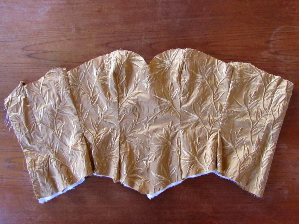my golden corset