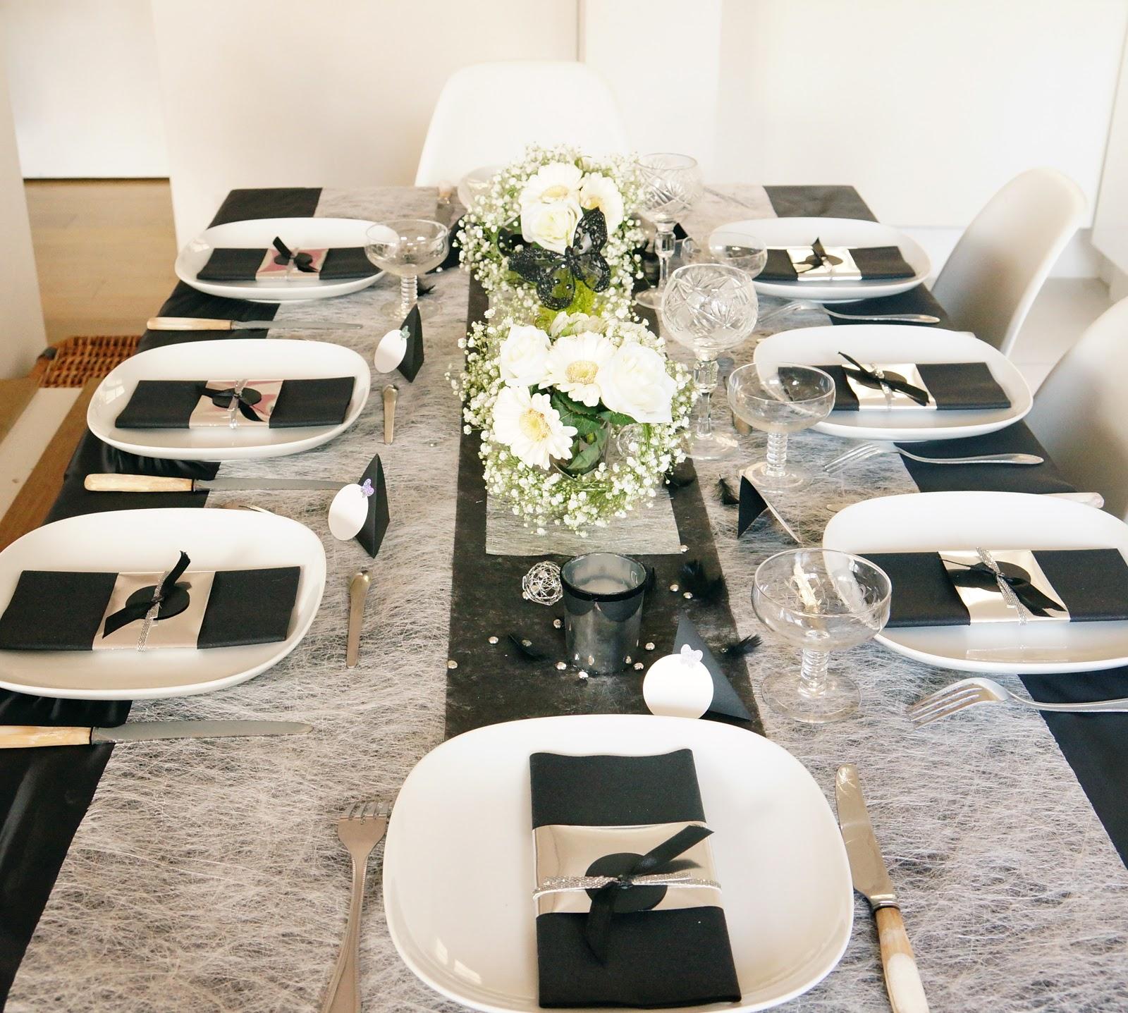 Ma boutique d co table d coration de table saint - Deco table reveillon st sylvestre ...