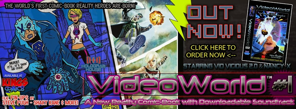 VideoWorld: The Comic Book & Soundtrack OUT NOW from Hologram House