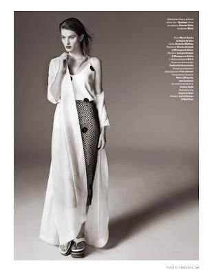 Isabeli Fontana Vogue Ukraine Magazine Photoshoot February 2014 By Marcin Tyszka