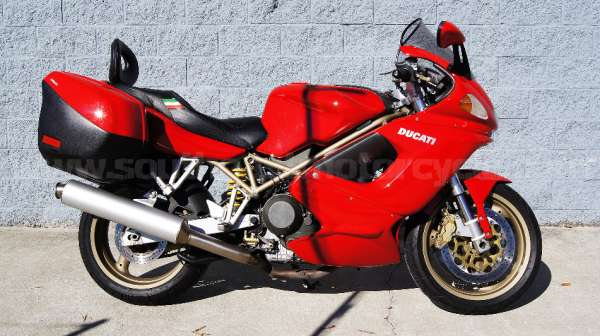 DUCATI SPORTTOURING ST2    ST4    1999 Owner Manual