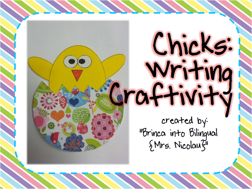 https://www.teacherspayteachers.com/Product/Chick-Craft-598955