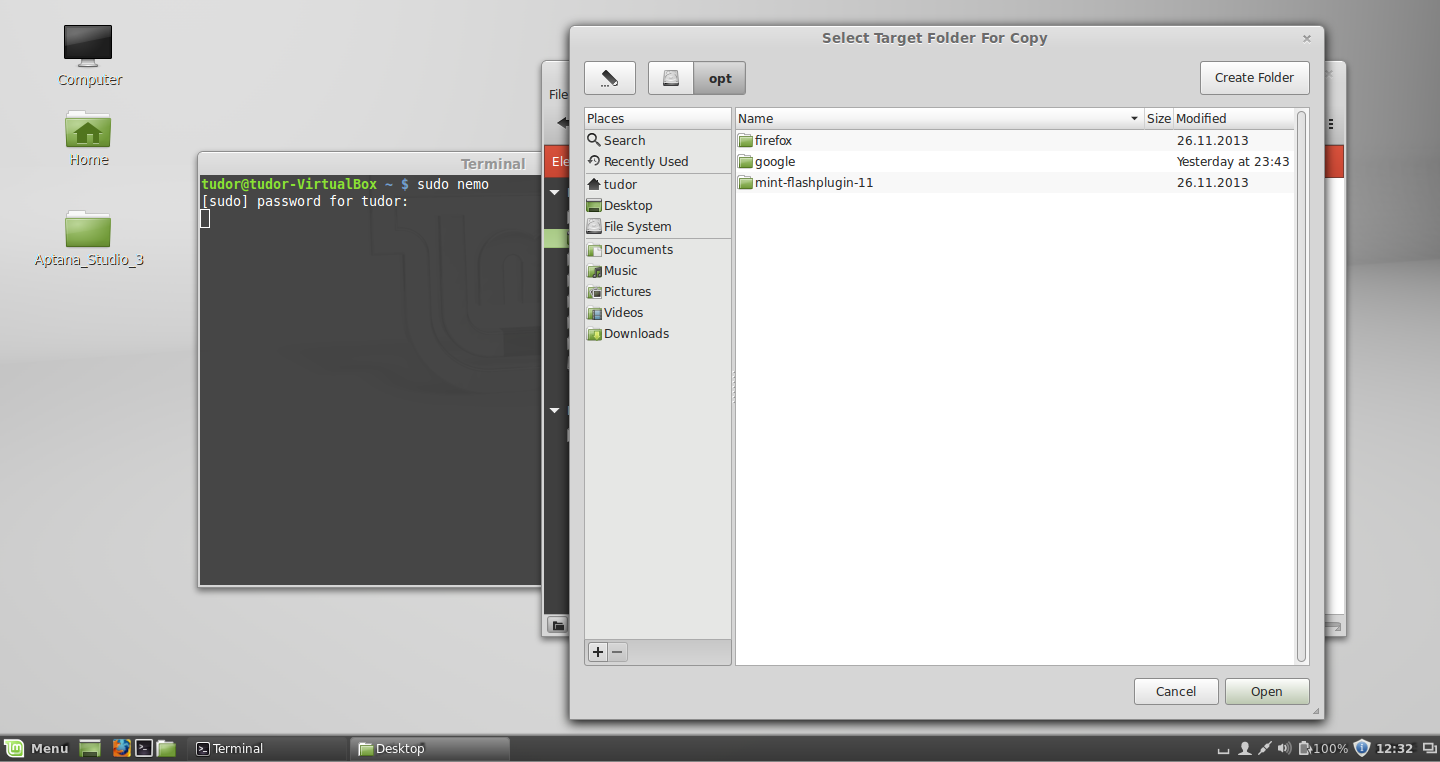 Linux Mint - Download & Install Aptana Studio 3