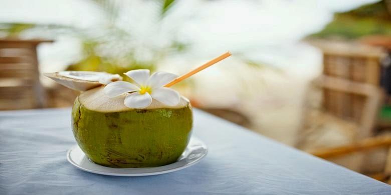 Air kelapa lebih baik dari sport drink