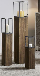 Pedestal de velas