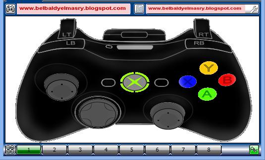 حمل البرنامج الذى يمكنك من تشغيل يد التحكم او زراع التحكم فى الالعاب التى تعمل بالماوس فقط Xpadder 2014.07.01 برنامج مجانى 1 ميجا فقط