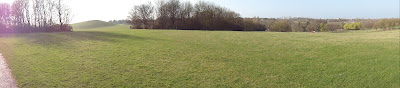 Panorama of part of Campbell Park