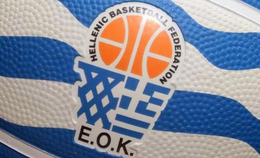 EOK | Κλήσεις Εθνικής Παίδων