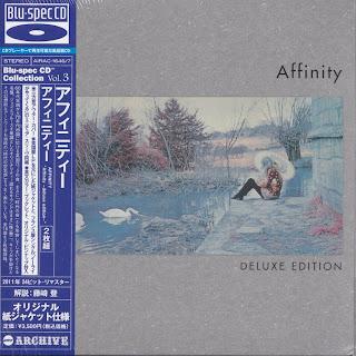 AFFINITY - AFFINITY (VERTIGO 1970) Jap mastering BLU-SPEC cd cardboard sleeve deluxe edition 2 cd set
