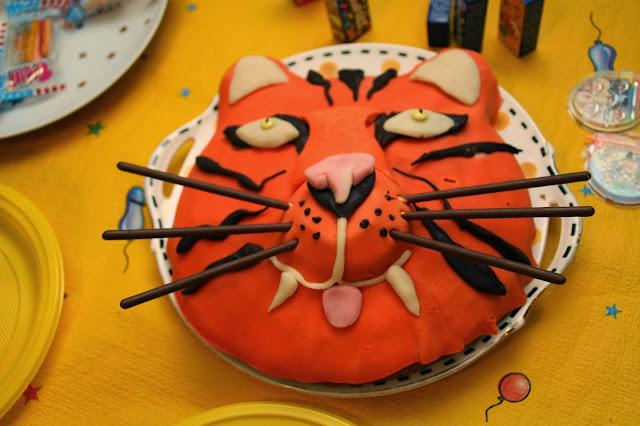 gateau tigre