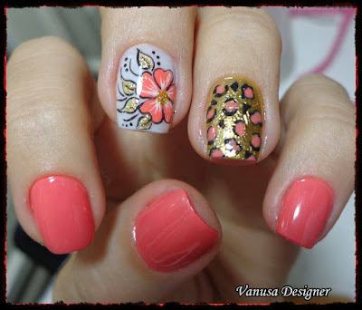 Diseños lindos y faciles de uñas 2015