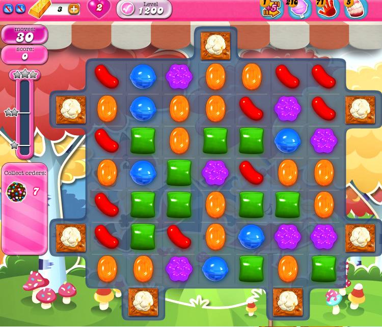 Candy Crush Saga 1200